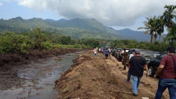 Pemilik Tanah Didatangi Satu per Satu, Pembebasan Lahan Tol Padang-Pekanbaru Dipercepat