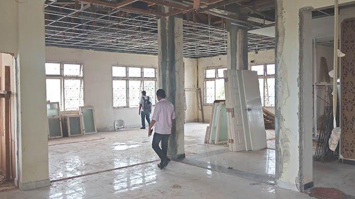 Dinas PUPR Sebut Progres Pengerjaan Proyek Rehab Gedung DPRD Pelalawan Hanya 16 Persen