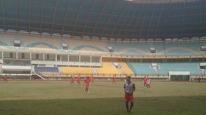 Jelang Derby Riau Lawan KS Tiga Naga di Liga 2 2021, Skuad PSPS Jalani Latihan Malam