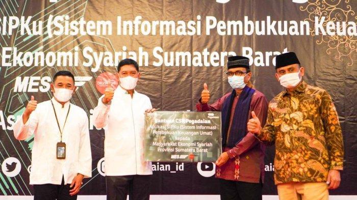 PT Pegadaian Serahkan CSR Dalam Bentuk Aplikasi SIPKu dan Berikan Santunan Kepada Anak Yatim