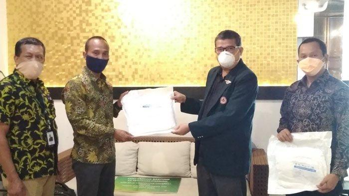 Cegah Penyebaran Virus Corona di Riau, Pegadaian Ikut Salurkan APD untuk Tenaga Medis