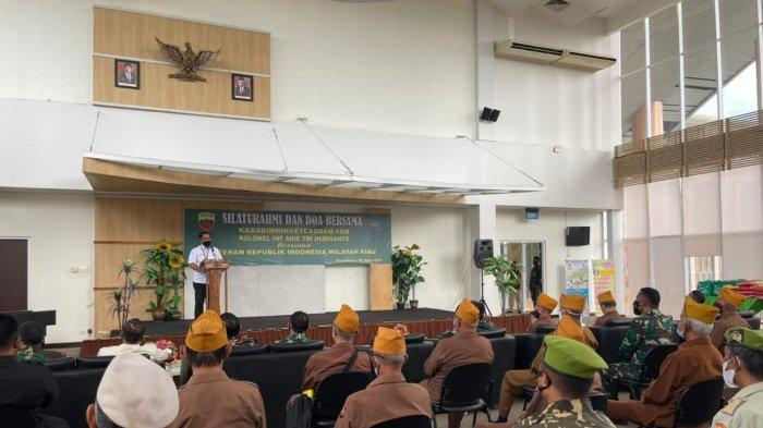 Ratusan Paket Sembako PTPN V Untuk Para Veteran Pejuang Bangsa di Provinsi Riau