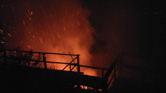 Puncak Objek Wisata Ulu Kasok si Raja Ampat Riau Terbakar Lagi. Begini Kondisinya