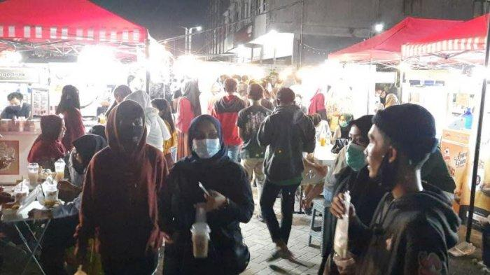 DPP Pekanbaru Sebut Pusat Kuliner Nadayu Belum Punya Izin, Picu Kerumunan Jadi Perhatian Satpol PP