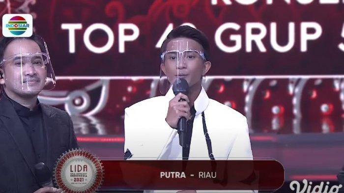 Putra Riau Tersenggol di TOP 42 Grup 5 Merah, Ini Hasil Lengkap LIDA 2021 Tadi Malam
