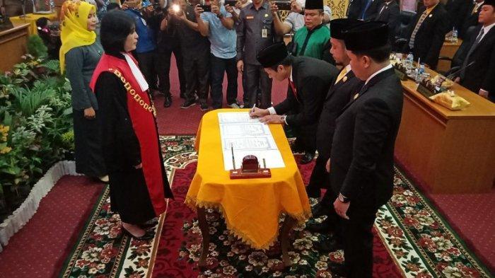 Putra Kandung Bupati Harris Resmi Jadi Ketua DPRD Pelalawan Riau, Adi Sukemi Pimpin Rapat Paripurna