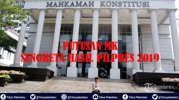 Putusan MK Hasil Pilpres 2019, TKD Jokowi-Maaruf di Riau Tak Gelar Syukuran, Demokrat Tunggu Arahan