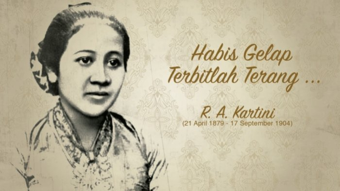 Selamat Hari Kartini,Putri Priyayi Tokoh Emansipasi Wanita,Ingin Tahu Sejarah dan Profil RA Kartini?