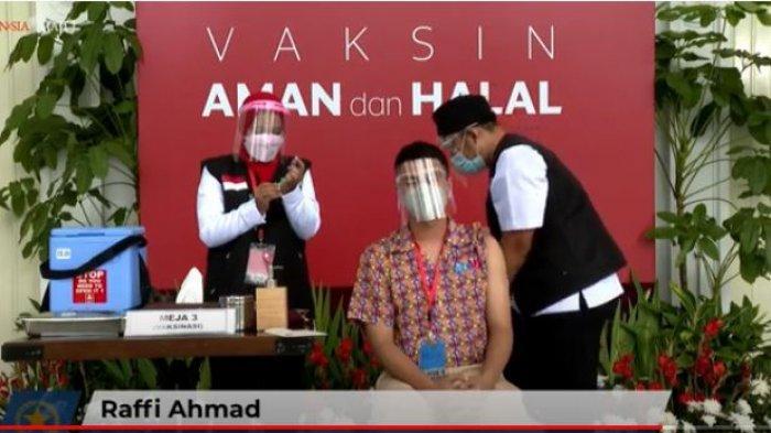 Raffi Ahmad Ditegur Sherina Munaf, Usai Divaksin Malah Berkerumun