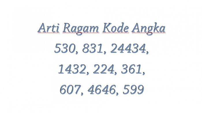 Berbagai Arti Kode Angka dalam Bahasa Gaul, Arti Kode 4646, Arti Kode 477