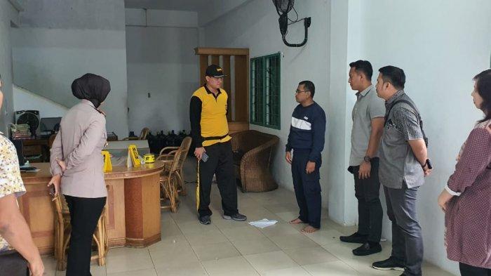 Rampok Beraksi di Komplek Pergudangan Pekanbaru Dini Hari, Petugas Keamanan Diikat dan Disekap