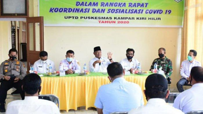 Pemkab Kampar Minta Aparat Desa Mendata Masyarakat Terkait Layanan dan Bantuan Covid-19