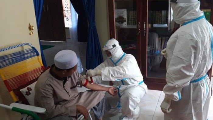 Nyonya Y Warga Tobek Godang Positif Covid-19 Hasil Rapid Test Massal, Sempat Dirawat di RS Madani