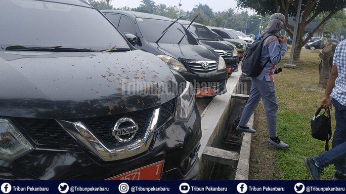 Ratusan Mobil Dinas Pegawai Pemprov Riau Mangkrak 105 Hari, Belum Didistribusikan Pasca Idul Fitri