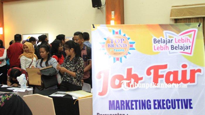 70 Perusahaan Sediakan Lowongan Kerja,Ini Dia Persyaratan Melamar Kerja di Job Expo Pekanbaru