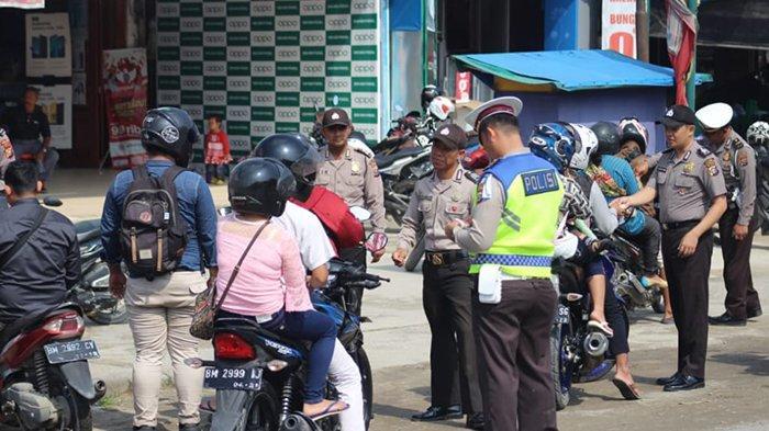 Polisi Tilang 553 Pengendara dan Sita 138 Kendaraan Selama Sepekan Operasi Zebra di Pelalawan Riau