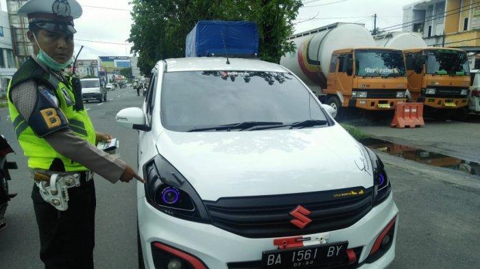Operasi Zebra Telah Usai, 186 Unit Sepeda Motor Dikandangkan di Mapolresta Padang