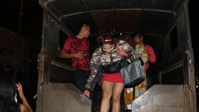 11 Wanita,4 Lelaki Diangkut Petugas,Ngapain Ya?Ini Lokasi Hiburan Malam dan Prostitusi yang Dirazia
