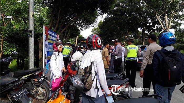 Resmi! Polda Riau dan Jajaran Gelar Operasi Zebra 2019, Siapkan Surat dan Kelengkapan Kendaraan Anda