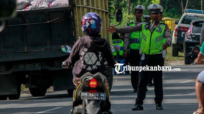 Digeser, Pelajar dan Mahasiswa Bukan Lagi Pelanggar Lalu Lintas Tertinggi di Riau