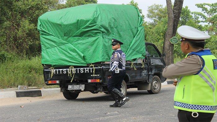 Razia Angkutan Penumpang Umum dan Barang, Dua Hari Petugas Terjaring 44 Kendaraan