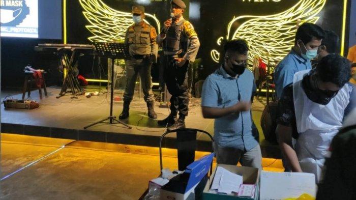 Berani Nongkrong di Cafe dan Kedai Kopi di Pekanbaru, Anda Langsung Diswab Petugas Satgas Covid-19