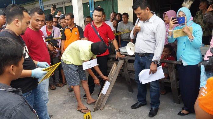 Rekonstruksi Kasus Penganiayaan Berujung Kematian Remaja Pekanbaru, Terungkap Tersangka Pernah Kalah