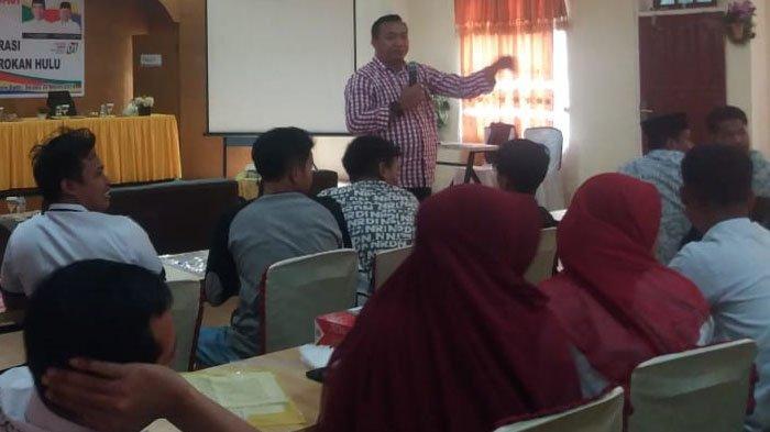 Relawan Cinta Ibu Deklarasi Sambil Pengajian Bersama Millenial Dukung Jokowi