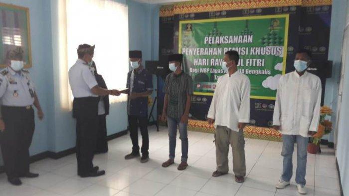 513  Napi Lapas Bengkalis Dapat Remisi Idul Fitri