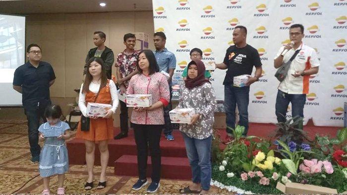 Repsol Oil Berikan Ragam Doorprize dan Sosialisasi Produk Unggulan Pada Pemasar dan Panyalur di Riau