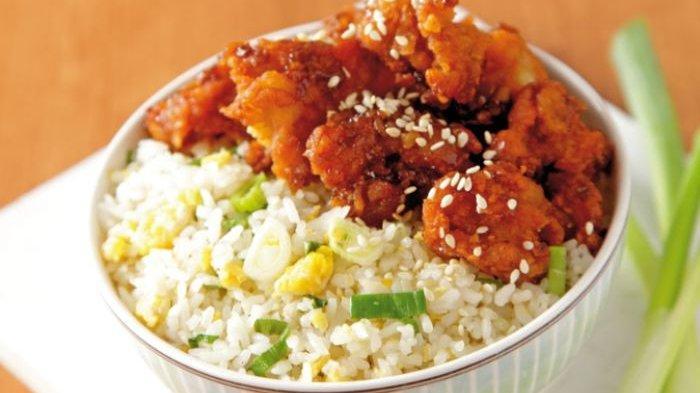 Resep dan Cara Membuat Nasi Ayam Mangkok dengan Tambahan Toping Nikmat, Cocok untuk Menu Sarapan