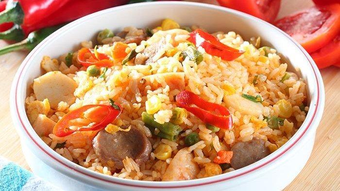 Resep Nasi Goreng, Cara Membuat Nasi Goreng Aneka Bakso Mudah di Buat untuk Sarapan Pagi