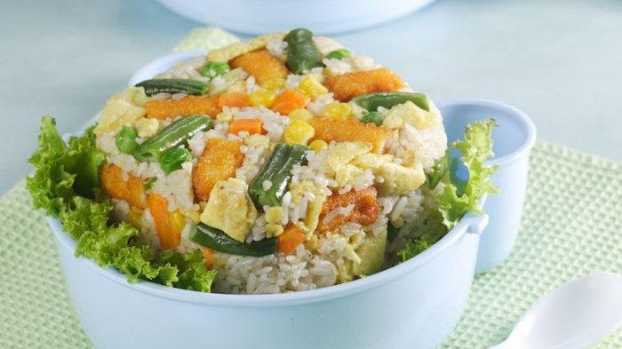 Resep Nasi Goreng, Cara Membuat Nasi Goreng Nugget Nikmat dan Mudah Bikinnya, Menu Sarapan Pagi Ini