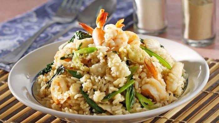 Resep Nasi Goreng, Cara Membuat Nasi Goreng Seafood Penuh Citarasa