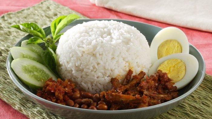 Resep Nasi Lemak, Cara Membuat Nasi Lemak, Menu Sarapan Pagi Terasa Spesial dengan Aneka Isian