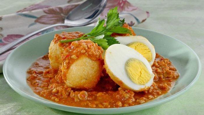 Resep Telur, Cara Membuat Telur Masak Sambal Tumpang Nikmat untuk Menu Makan Siang, Mudah Dibuat