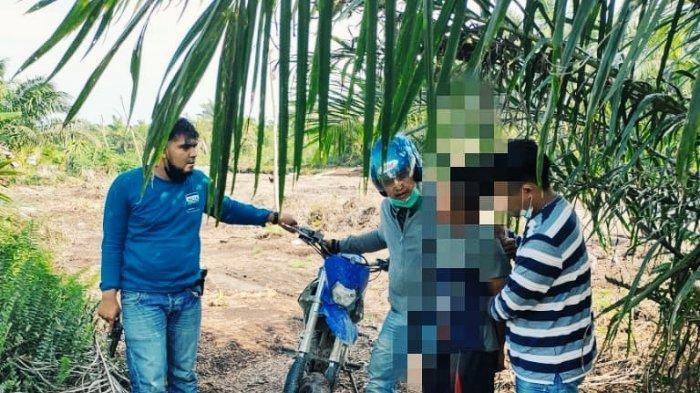 Residivis Mencuri Motor Warga di Inhil, Malah Todongkan Pisau Saat Ditangkap Polsek Keritang