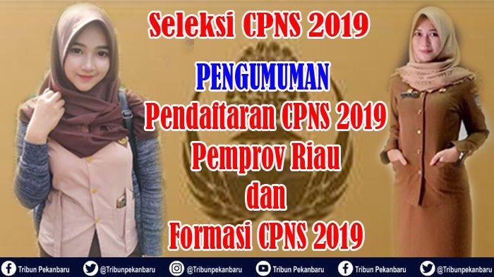Pendaftaran CPNS Ditutup, Jumlah Pelamar Seleksi CPNS Pemprov Riau 8.046 Orang
