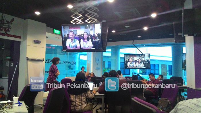 RGE Kembali Gelar Journalism Workshop di Singapura
