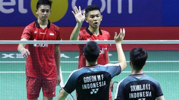Indonesia Open 2018: Tim Merah Putih Kirim 2 Wakil di Partai Pamungkas Sore Ini