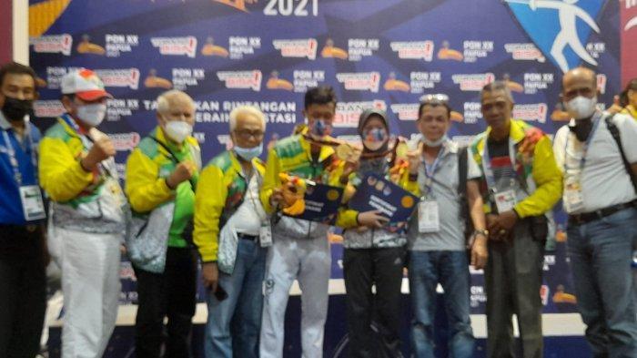 Riau Raup 2 Emas Lagi dari Cabor Anggar di PON 2021 Papua, Ini Sosok Atlet yang Sumbangkan Emas