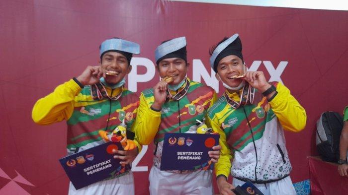 Tambah Emas Lagi , Riau Juara Umum Cabor Anggar di PON 2021 Papua, Ini Daftar Peraih Medali
