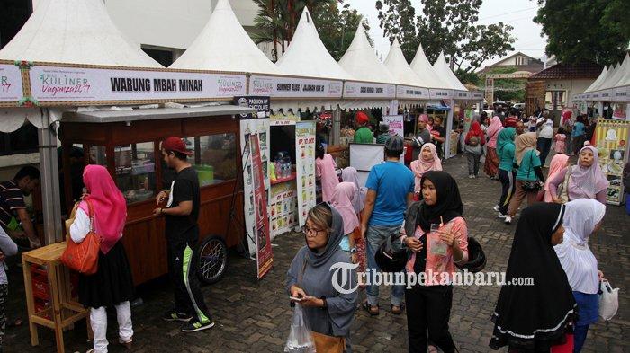 FOTO: Maksimalkan Potensi Wisata Riau, Begini Kemeriahan Riau Kuliner Vaganza 2017