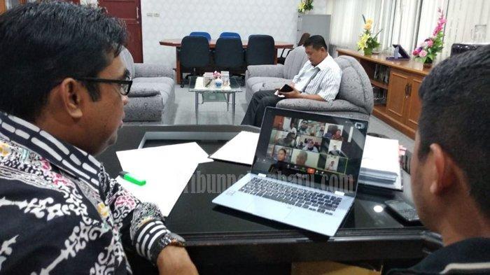 Riau Siaga Darurat Covid-19, KPU Riau Rapat Via Aplikasi Zoom Cloud, PLN Siak: Pasokan Listrik Aman