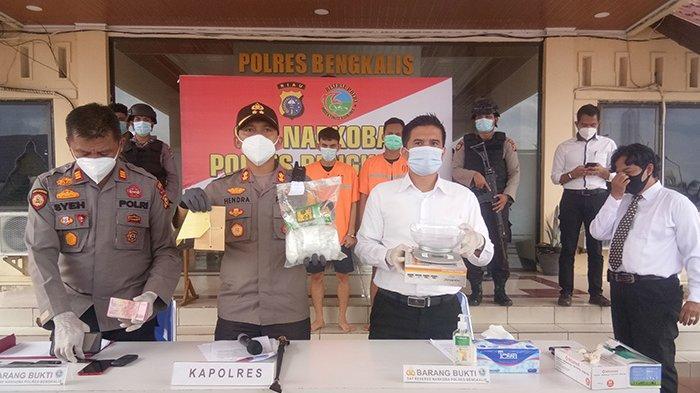 Rumit dan Berliku,Modus Sindikat Narkoba Bengkalis Pasarkan Sabu,Pemesan Sudah Bayar Rp 50 Juta