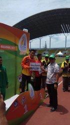Rivani Ajak Ibu ke Aceh Pakai Uang Tabungan, Wakil Riau Juara 3 O2SN Tingkat Nasional