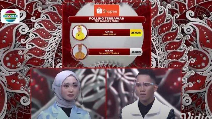 Hasil LIDA Tadi Malam, Elsa Kalbar Polling Tertinggi,Riyad Sulteng Tersenggol Grup 1 Putih LIDA 2021