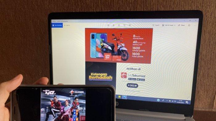 Beli Paket Kuota Ketengan Telkomsel Berkesempatan Dapat Motor Honda Beat
