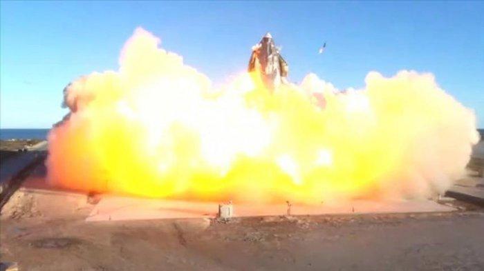 SpaceX senilai Rp 750 Miliar Meledak, Roket Pengangkut Manusia ke Luar  Angkasa - Tribun Pekanbaru