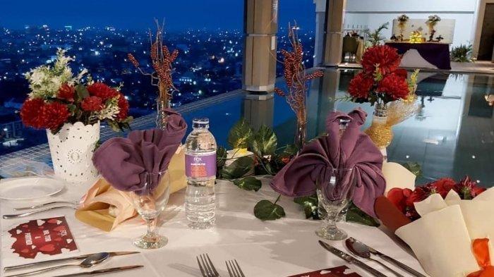 Lewati Momen Valentine dengan Dinner Romantis di Lantai 15 Fox Hotel, Nikmati Pemandangan Pekanbaru
